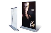 Mini Roll Up Banner Stand