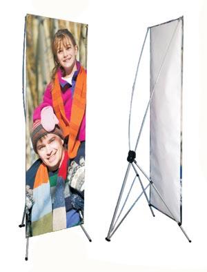 Adjustable Banner Stand