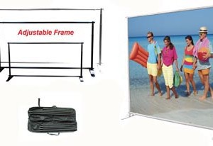 Adjustable Jumbo Banner Frame
