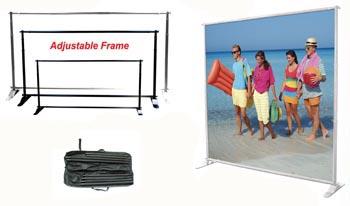 Adjustable Jumbo Banner Frame