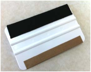5 Inch SUPER Soft Felt/Teflon Stripped Magic Master Squeegee