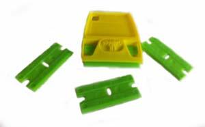 ScrapeRite Double-Edge Plastic Razor Blades