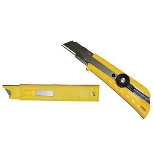 New! Econo Utility Knife & Blade Pack 1